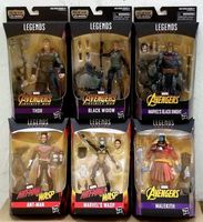 MARVEL LEGENDS SERIES AVENGERS INGINITY WAR (ANT MAN& WASP) 6 BAF CULL OBSIDIAN Anime Figure Collectible Model Toy