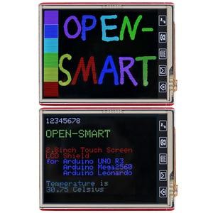 Image 3 - 2,8 дюймовый TFT ЖК экран + плата UNO R3 с tf картой/сенсорной ручкой/usb кабелем для Arduino UNO / Mega2560 / Leonardo