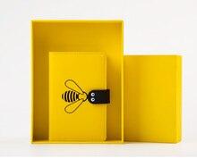 цена Kawaii Notebook Agenda Bee A6 Annual Monthly Weekly Planner Diary Travel Journal Book Organizer Binder Paper Office Cute Gifts онлайн в 2017 году