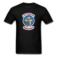 Breaking Bad Los Pollos T Shirt Men Mad Amazing T Shirt Men Abstract Cartoon Printing T