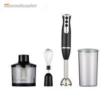 Homeleader 4 IN 1 Hand Blender Smart Stick Variable Speed Blender Mixer Stainless Steel K39 038