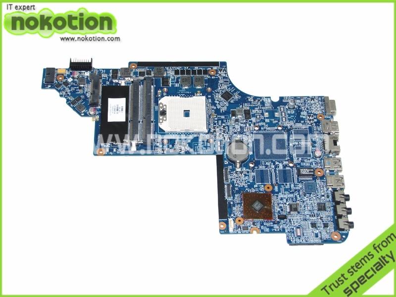 все цены на  650849-001 laptop motherboard for HP pavilion DV6 DV6-6000 socket FS1 218-0755046 DDR3 Mainboard free shipping  онлайн