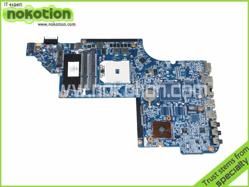 NOKOTION 650849-001 laptop motherboard for HP pavilion DV6 DV6-6000 socket FS1 218-0755046 DDR3 Mainboard free shippingNOKOTION 650849-001 laptop motherboard for HP pavilion DV6 DV6-6000 socket FS1 218-0755046 DDR3 Mainboard free shipping