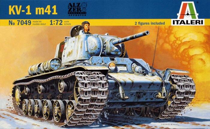 1:72 KV-1 M41 Tank Model