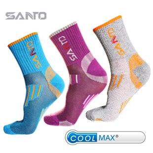 SANTO Brand Women Quick Drying Outdoor Sports Hiking Socks COOLMAX Socks S005