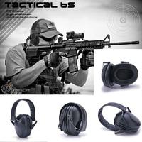 Anti-noise Earplugs Noise Reduction Hearing Muffs Shooting Self Defense Protective Folding Ear Plugs for Hearing Ear Protection