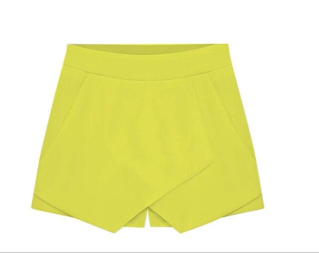 Aliexpress.com : Buy Vintage Ladies Candy Color New Skorts Mini ...