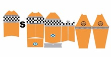 2018 Custom Spring Cycling Jersey Long Sleeve ,Design Your Own Bicycle Wear like Scottish Borders Randonneurs' Design