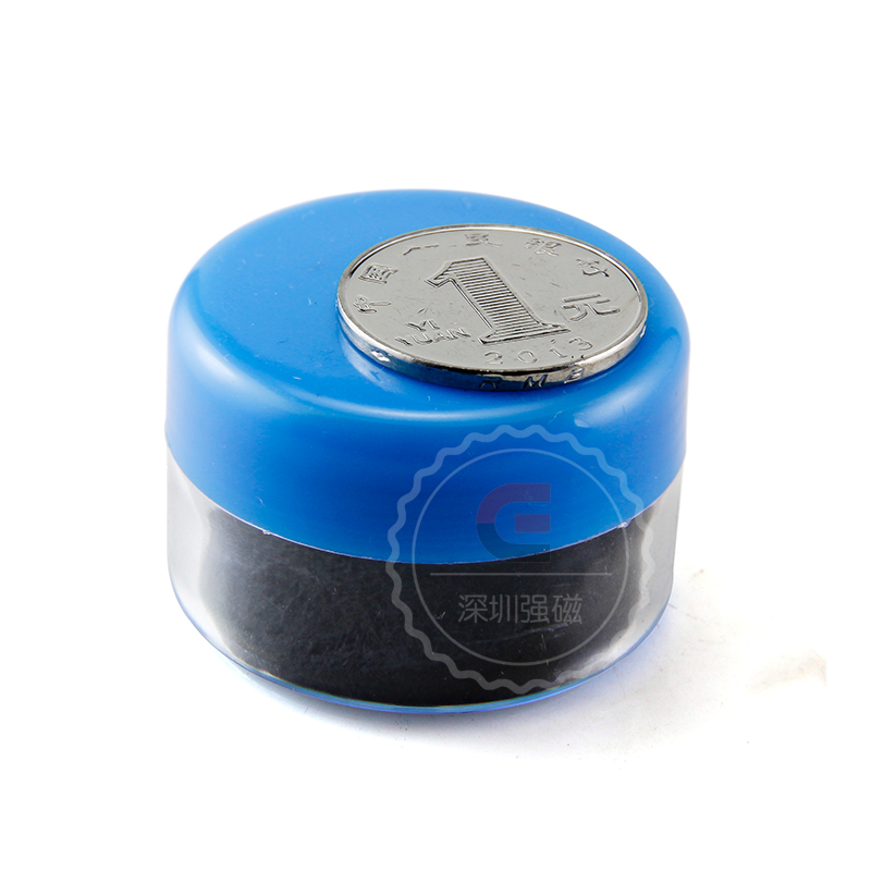 1pcs Magnetic Particle  Iron Powder for Education Science Experiments Demonstration of Magnetic Field magnet clock table model teacher demonstration with primary school mathematics science and education equipment three needle linkage