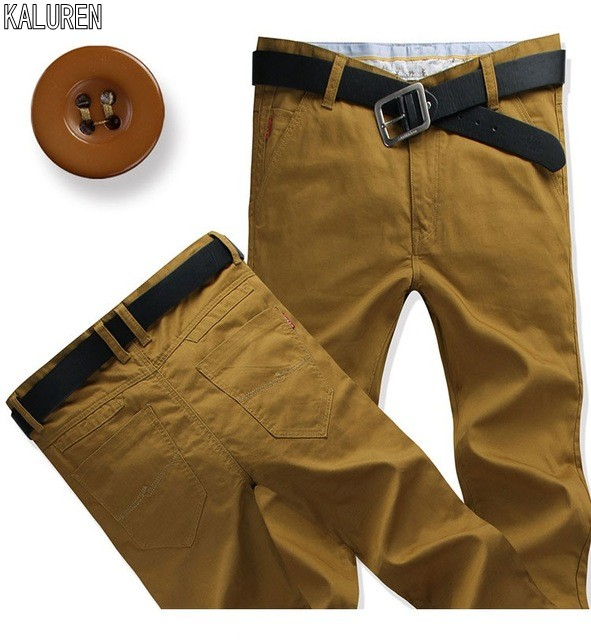 TOP Free Shipping Size 28-44 Casual Men Pants Plus Long 120 Cm Length Pants Straight Cotton Men Jeans Long Trousers Hiphop