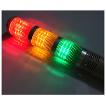 Promotion! AC/DC 24V Red Green Yellow LED Lamp Industrial Tower Signal Light