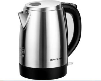 chinaJoyoung 1.7L household quick electric kettle full 304 stainless steel thermos JYK-17S08 home rapid boiling hot water cooker electric kettle 304 stainless steel zhengpin electric hot pot home automatic power failure quick