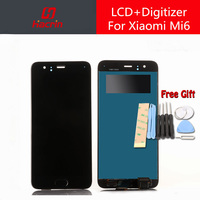 Xiaomi Mi6 LCD Display Touch Screen 100 New FHD 5 5inch Digitizer Assembly Replacement For Xiaomi