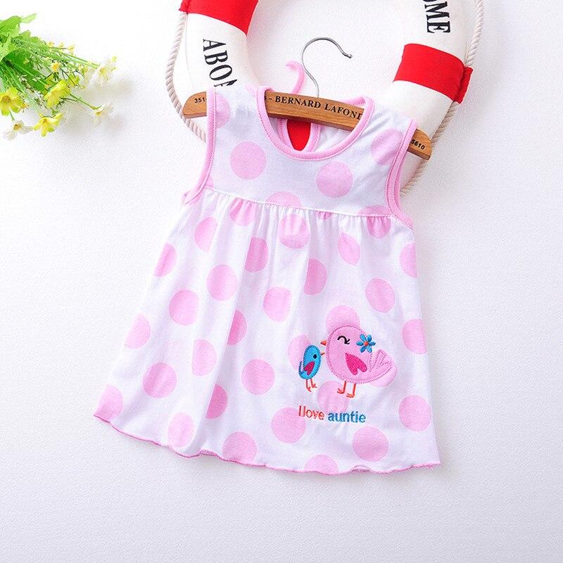2017 verano 1 año baby girl dress infantil para niños vestidos de princesa de al
