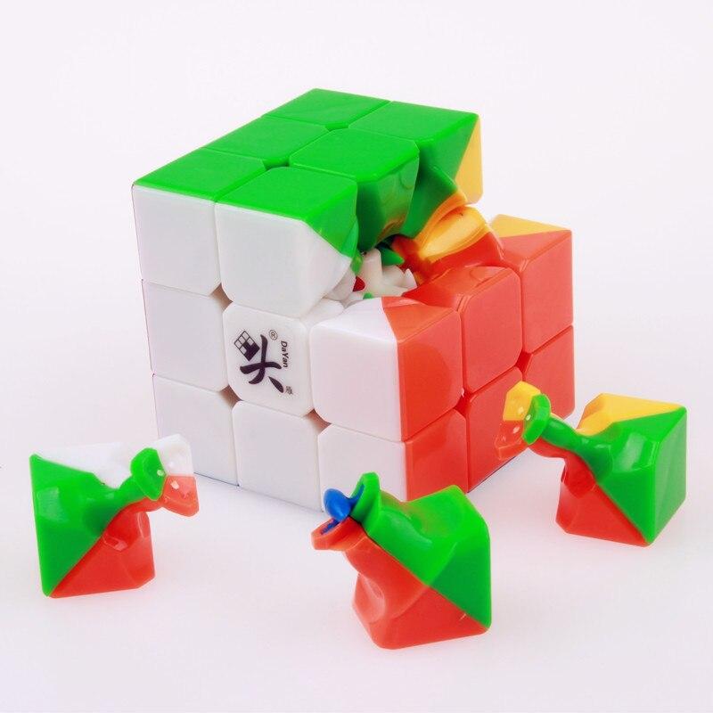 57mm 3x3x3 dayan 5 zhanchi magisk hastighet kub pussel ultralätt - Spel och pussel - Foto 4