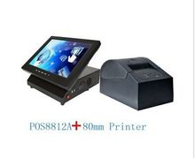 12 inch touch pos system plus 80mm thermal printer all in one pc Cheap pos terminal