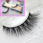 Free shipping 100% Real Mink lashes Strip Lashes thick False eyelashes mink eye lashes extensions high quality fake false