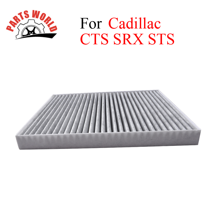 Car Parts Carbon Cabin Filter For <font><b>Cadillac</b></font> <font><b>CTS</b></font> SRX STS <font><b>2004</b></font>-2014 Auto Accessories OEM 88957450 19130403 25740404 High Quality