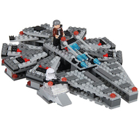 2016 Star Wars Millennium Falcon Outer Space Space Ship Building Blocks Model Toys Christmas Birthday Gift