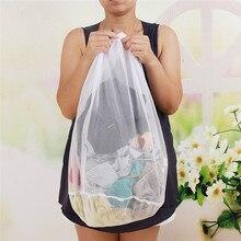 Vogvigo Mesh Home Storage Zipper Case Organizer Pouch Toiletry Beauty Wash Kit Bath Bags Travel Cosmetic Bag