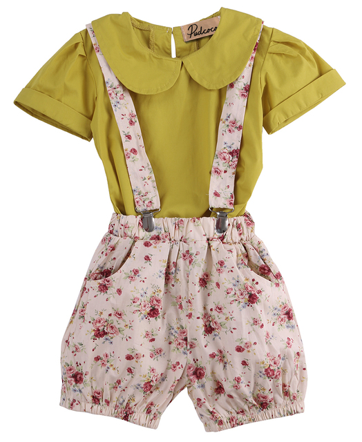 37ff66ada Girls Clothing Sets 2017 New Fashion Baby Girl Clothes Peter Pan ...
