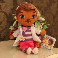 Hot Toys Doc Mcstuffins Doll Plush Doctor Toys Large Size 35CM Doc Mcstuffins Girls High Qultiy