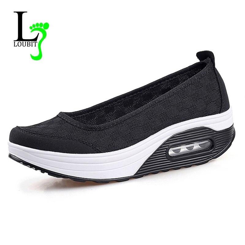 Модная женская повседневная обувь обувь на плоской подошве сетчатые женские  лоферы удобная обувь для медсестры на плоской подошве без застежки женская  обувь ... f2c36de1c739a