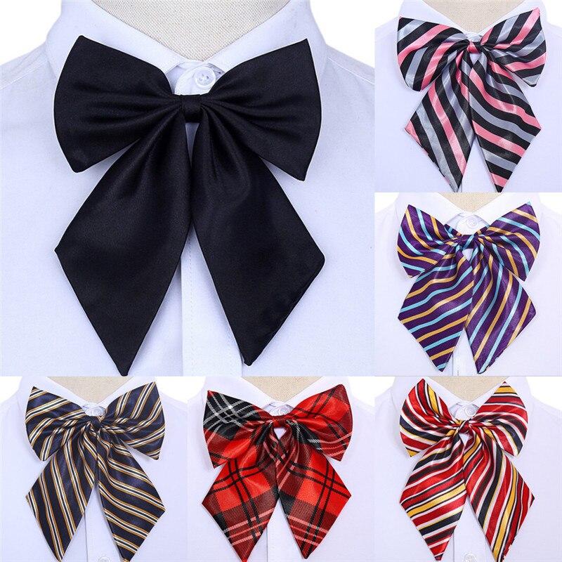 Herzhaft Frauen Bowties Vintage Gestreiften Bogen Krawatten Seide Krawatte Fliege Schmetterling Gravata Borboleta Krawatte Hochzeit Neck