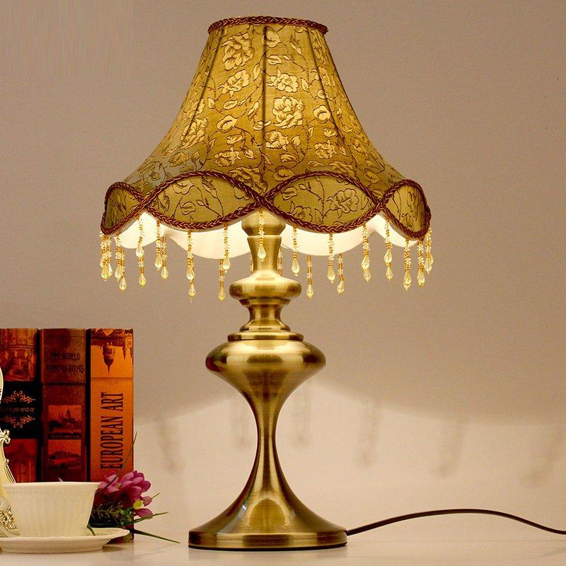 European Vintage Bedroom Table Lights Luxury Bedsides