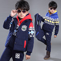 Boys Clothes Set 2016 The New Leisure Virgin Suit Boy Clothing Sets Winter Children Three-piece Sets Children's Wear