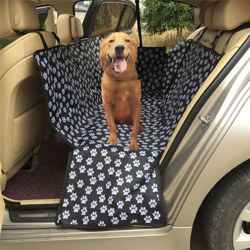 Magnificent Us 29 47 20 Off Car Pet Seat Cover Dog Car Back Seat Carrier Waterproof Pet Mat Pet Carriers Oxford Fabric Paw Pattern Hammock Cushion Protector In Onthecornerstone Fun Painted Chair Ideas Images Onthecornerstoneorg