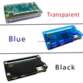 Free shipping Raspberry Pi Zero Acrylic Case 3 colors Box Shell Transaperent black blue Acrylic Enclosure Box for RPI Zero