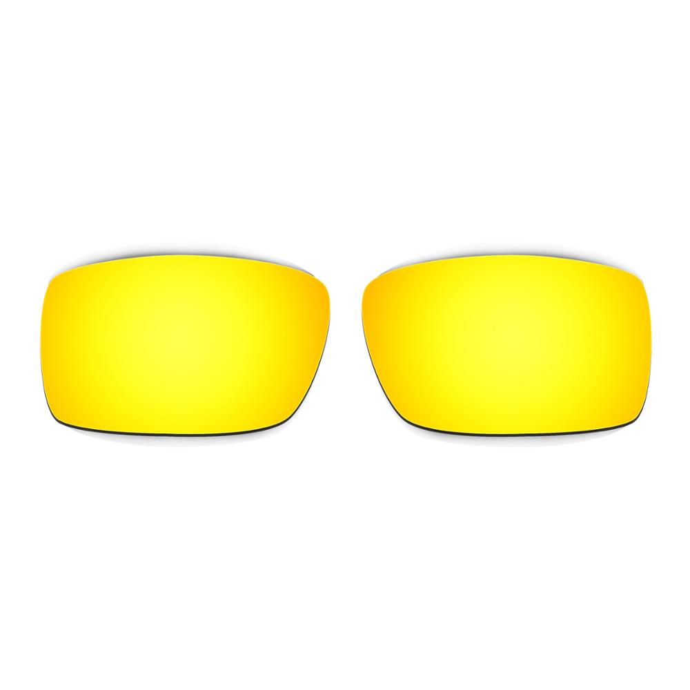 937155a282f HKUCO For Gascan Sunglasses Polarized Replacement Lenses Red 24K ...
