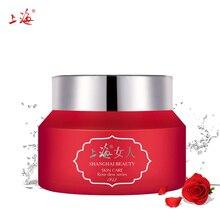 SHANGHAI Day cream Face Cream Rosa Dew Nourish Cream Moisturizing Hyaluronic Acid Anti Wrinkles Anti Aging Whitening Skin Care