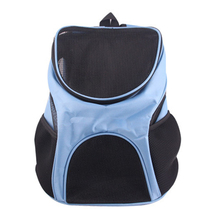 High Quality Foldable Soft Padded Pet Carrier Backpack Dog Cat Breathable Portable Bag with Ventilated Mesh