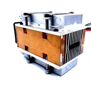 Image 2 - SXDOOL refrigerador semiconductor TEC Peltier, pequeño, bricolaje, refrigeración por agua, movimiento de aire acondicionado para refrigeración y ventilador