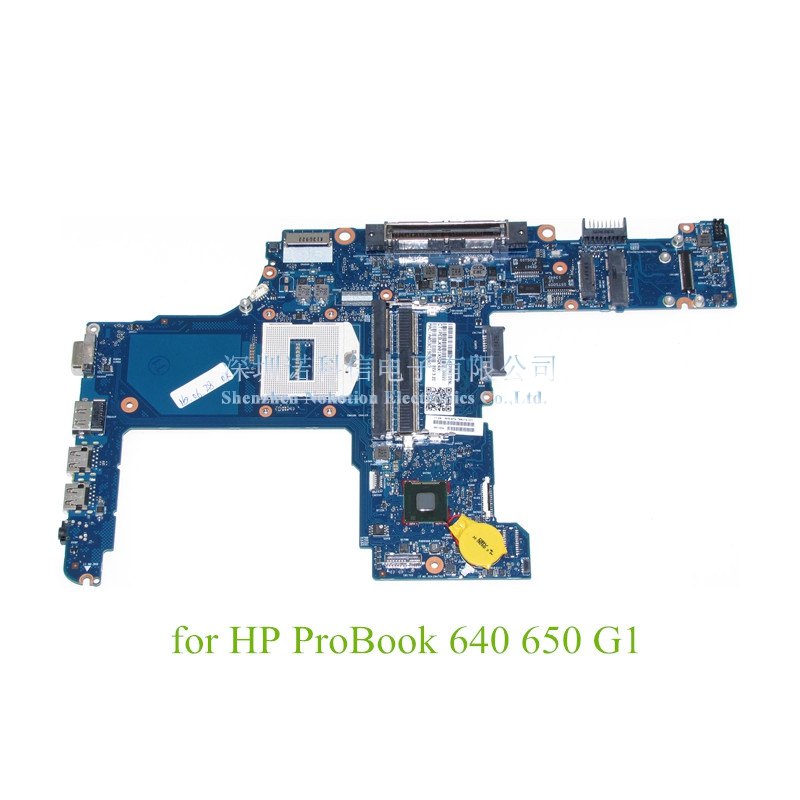 744016-601 744016-001 Main boardFor HP ProBook 640 650 G1 Laptop motherboard GMA HD 4400 DDR3L for hp probook 640 g1 650 g1 notebook motherboard 797419 001