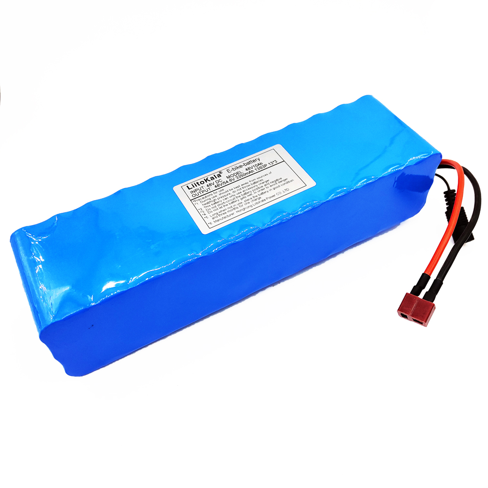 LiitoKala 48V 10ah 13s3p High Power 18650 Battery Electric Vehicle Electric Motorcycle DIY Battery BMS Protection-in Battery Packs from Consumer Electronics