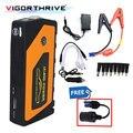 Аварийное пусковое устройство для автомобиля на выходе автомобильное зарядное устройство Power Bank многофункциональное автомобильное пусков...