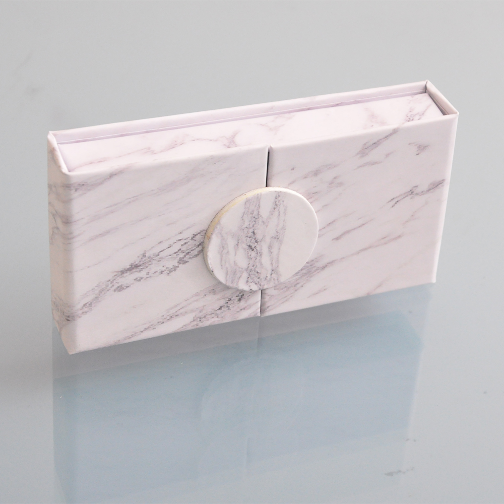 Image 2 - wholesale false eyelash packaging box lash boxes packaging custom your logo faux mink eyelashes strip lashes case empty  vendors-in False Eyelashes from Beauty & Health
