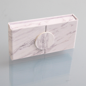 Image 2 - wholesale false eyelash packaging box lash boxes packaging custom your logo faux mink eyelashes strip lashes case empty  vendors