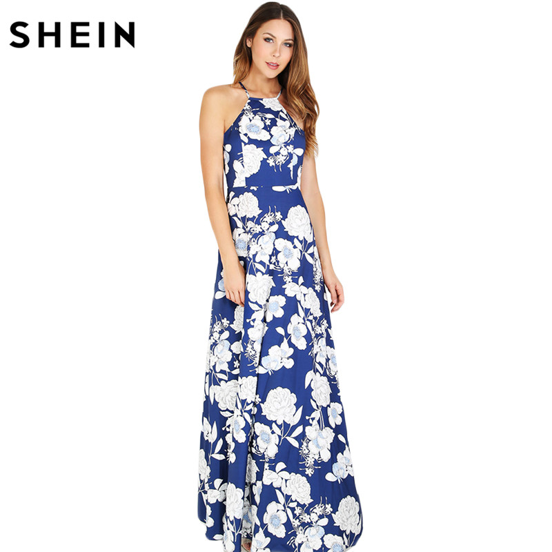 Aliexpress.com : Buy SHEIN Womens Summer Maxi Dresses New ...