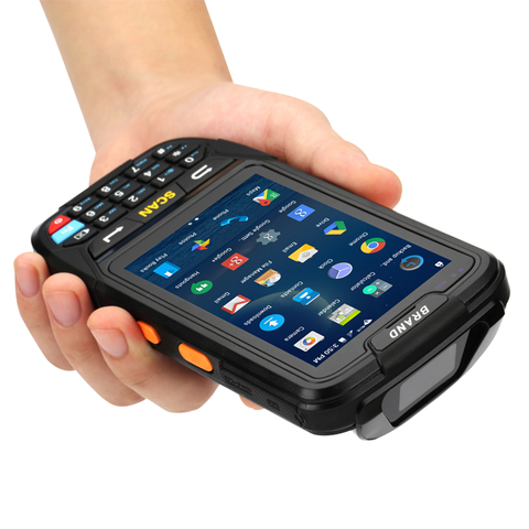 pda 2d handheld terminal suporte wifi bluetooth