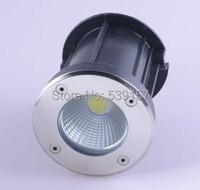 Free Shipping 10W Warm White/Cold White LED COB underground light led recessed floor lights AC85 265V|light horns|light switch ledlight sensitive led -