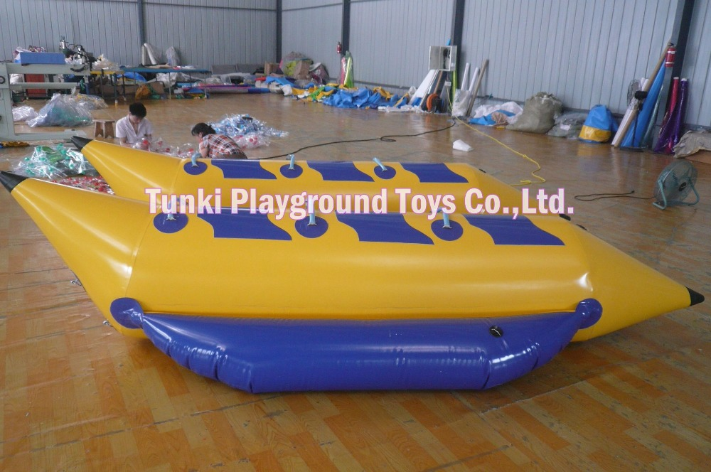 Hot sale inflatable sports boat 3-passengers inflatable boat inflatable banana boat for  ...