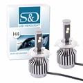 All-in-one design 80 W 8 Lm H4 HB2 9003 Viruta Del Cree Led Faro Kit de Conversión de las bombillas H7 H8 H11 HB3 HB4 9005 9006 30 W/Bulb D056