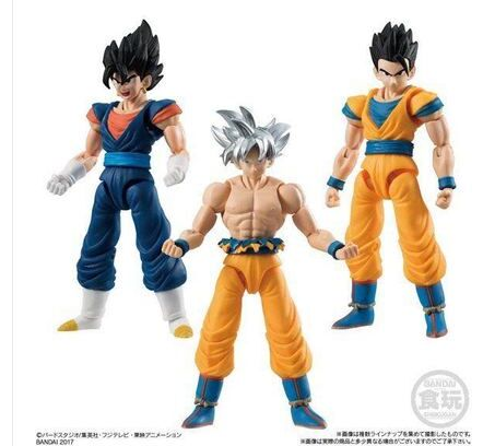 3pcs set SHODO Key of Egoism Migatte no Gokui Ultra Instinct goku son gokou Vegetto Son
