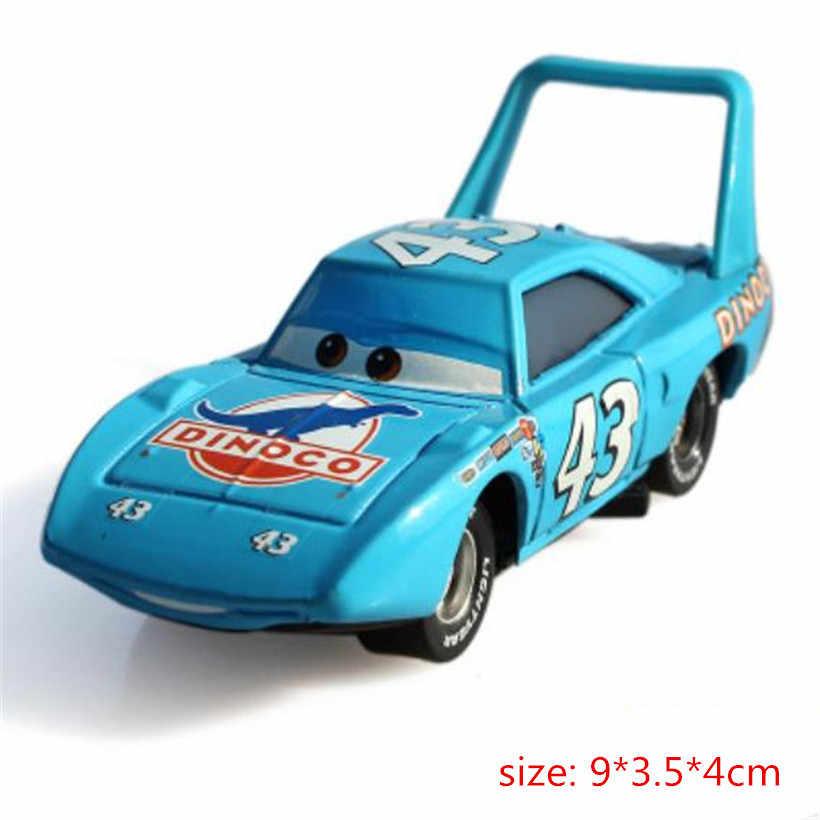 Auto Disney Pixar Cars 2 En Auto 'S 3 Lightning McQueen Racing Familie Ramirez Storm 1:55 Diecast Metaal Legering Speelgoed Auto voor Kinderen
