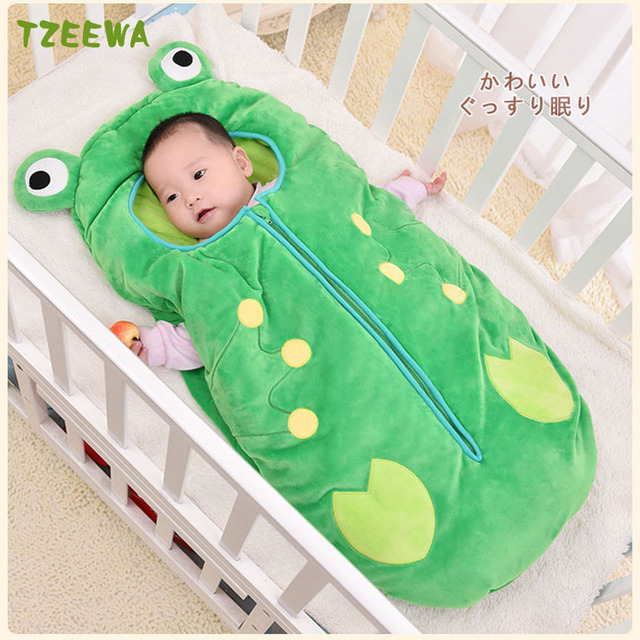 Baby Sleeping Bag Newborns Cotton Sleep Kids Winter Children Sleepsacks Swaddle Envelopes