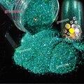 3 цветов/много Голографический Лазерный Порошок Блеск 0.2 мм Размер Макияж Пыли Ногтя DIY Порошок Пигмент Ногтей Лак Для Ногтей Art Блеск Порошок